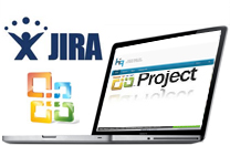 Management tools: JIRA, MS Project